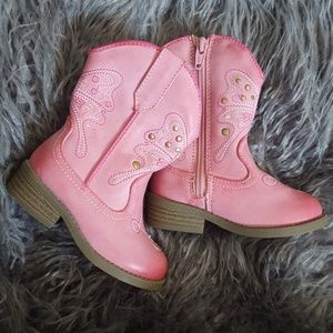New Butterfly Cowgirl Boots